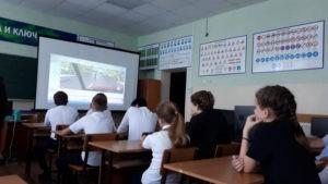 Проведена экскурсия в автошколу для обучающихся 8 класса