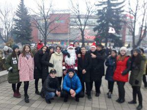 Гимназия участвовала в городских новогодних мероприятиях
