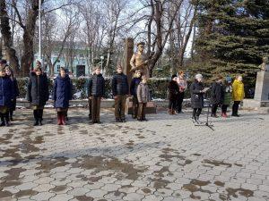 76 годовщина освобождения г. Черкесска от немецко - фашистских захватчиков