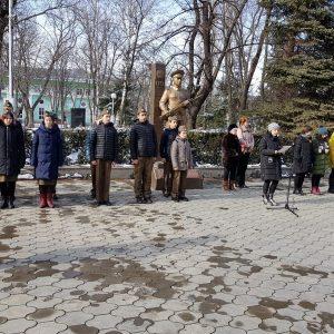 76 годовщина освобождения г. Черкесска от немецко — фашистских захватчиков
