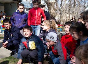 Поездка в детский дом - маленький праздник