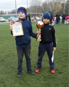 Футбольная команда гимназии