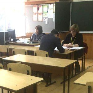 Проходит итоговое собеседование в МКОУ «Гимназия №9» г.Черкесска